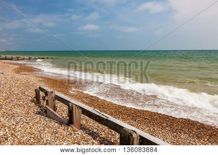 Climping Beach West Sussex England