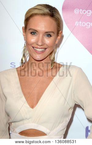 LOS ANGELES - JUN 25:  Nicky Whelan at the Together1Heart Launch Party at the Sofitel Hotel on June 25, 2016 in Los Angeles, CA