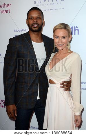 LOS ANGELES - JUN 25:  Kerry Rhodes, Nicky Whelan at the Together1Heart Launch Party at the Sofitel Hotel on June 25, 2016 in Los Angeles, CA