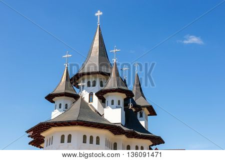 Orthodox Church In Manastirea Prislop, Maramures Country, Romania