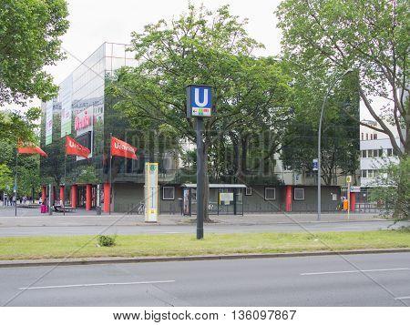 BERLIN GERMANY - JUNE 19 2016: Urania scientific society in Berlin