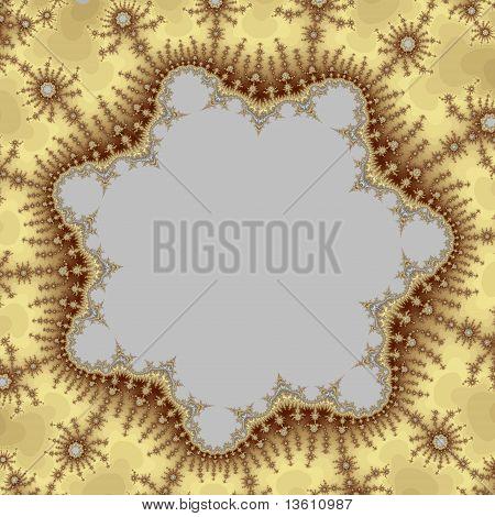 Golden Heptagonal Frame