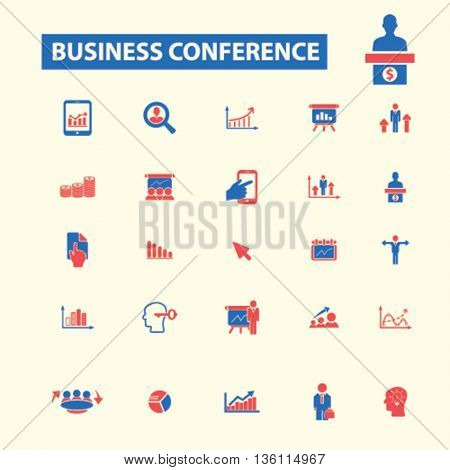 business conference icons