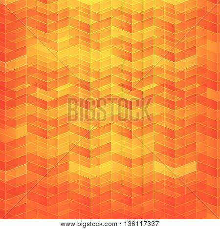 Orange Abstract background geometry pattern layered vector illustration eps10