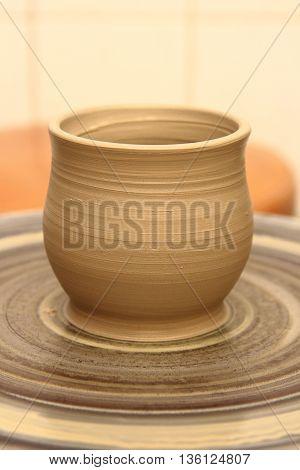 Pottery Making Close-up...