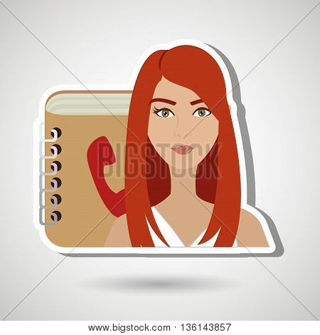 user phonebook design, vector illustration eps10 graphic