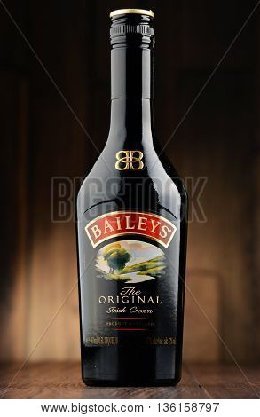 Bottle Of Baileys Irish Cream