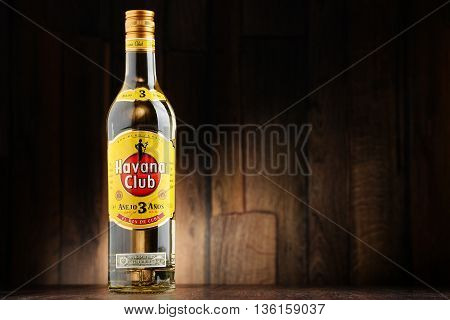 Bottle Of Havana Club White Rum