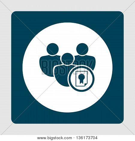 Certificate Icon In Vector Format. Premium Quality Certificate Symbol. Web Graphic Certificate Sign