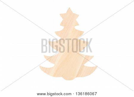 Christmas Wooden Fir Tree