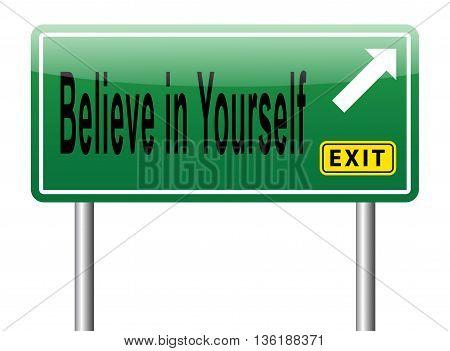 Believe In Yourself Self Belief