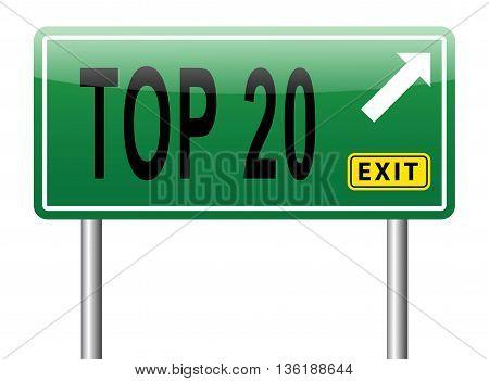Top 20 Chart
