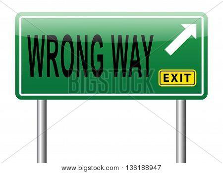 Wrong Way Turn Back