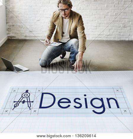 Design Creative Draft Model Objective Purpose Concept
