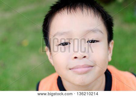 Young Asian Boy Eyes