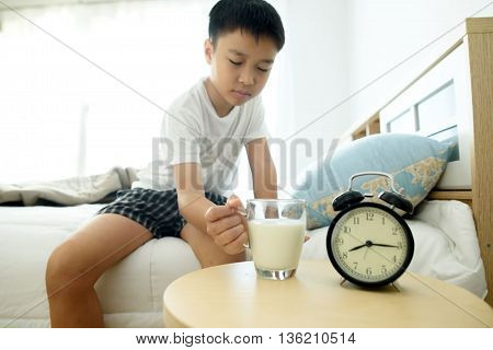 Milk In The Bedroom