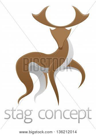 Stag Deer Concept Design