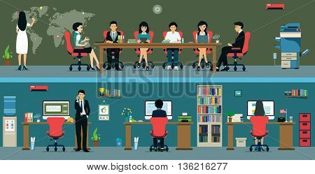 Office staff are currently working with partners and work meetings.