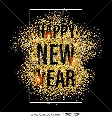 gold glitter happy new year 2017 background happy new year glittering texture gold sparkles