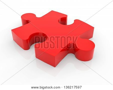 A Piece Of Jigsaw Puzzle