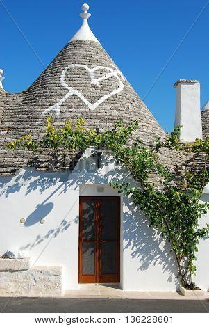 In the heart of Trulli of Alberobello - Apulia - Italy