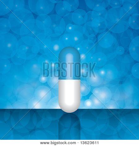 Beautiful Blue Pill