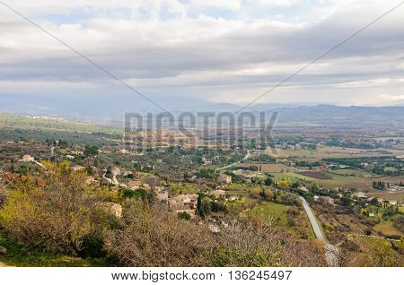 in Gordes the Luberon Region of Provence France