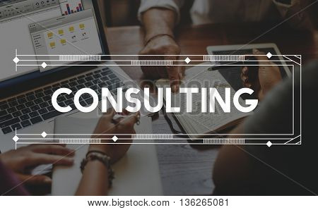 Consult Consultant Consulting Advice Help Concept