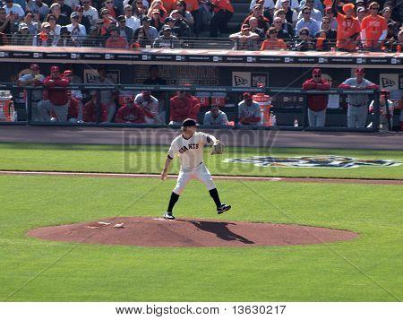 Pitcher Matt Cain