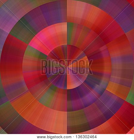 art abstract graphic spherical grunge colored background in blue green and red colors; geometric pattern