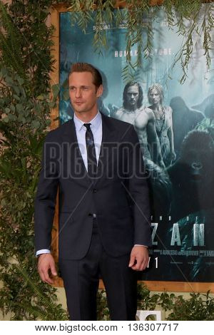 LOS ANGELES - JUN 27:  Alexander Skarsgard at The Legend Of Tarzan Premiere at the Dolby Theater on June 27, 2016 in Los Angeles, CA