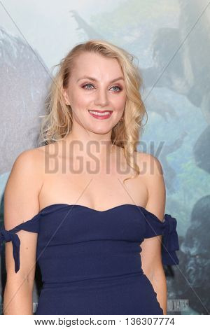 LOS ANGELES - JUN 27:  Evanna Lynch at The Legend Of Tarzan Premiere at the Dolby Theater on June 27, 2016 in Los Angeles, CA