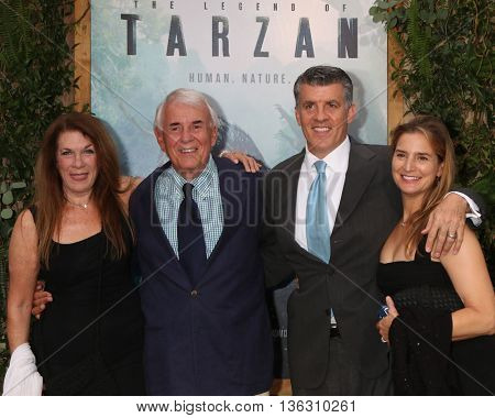 +LOS ANGELES - JUN 27:  Wendy Riche, Alan Riche, Peter Riche, Wendy Jacobs-Riche at The Legend Of Tarzan Premiere at the Dolby Theater on June 27, 2016 in Los Angeles, CA