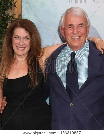 +LOS ANGELES - JUN 27:  Wendy Riche, Alan Riche at The Legend Of Tarzan Premiere at the Dolby Theater on June 27, 2016 in Los Angeles, CA