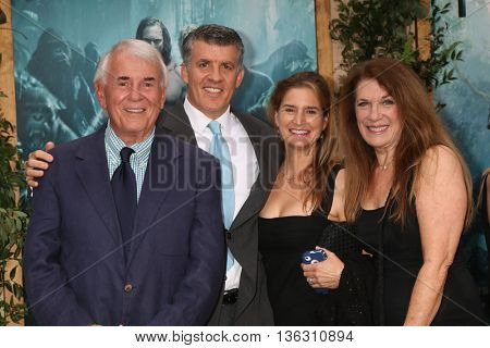 LOS ANGELES - JUN 27:  Alan Riche, Peter Riche, Wendy Jacobs-Riche, Wendy Riche at The Legend Of Tarzan Premiere at the Dolby Theater on June 27, 2016 in Los Angeles, CA