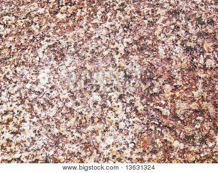 warm brown gravel background