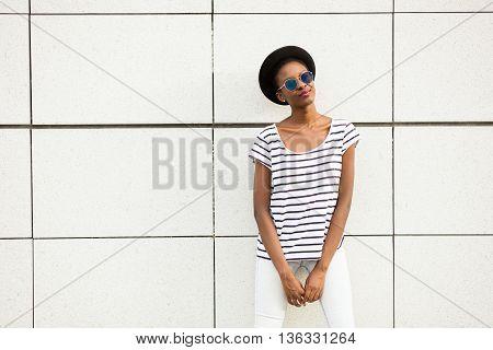 Modern Young Black Girl