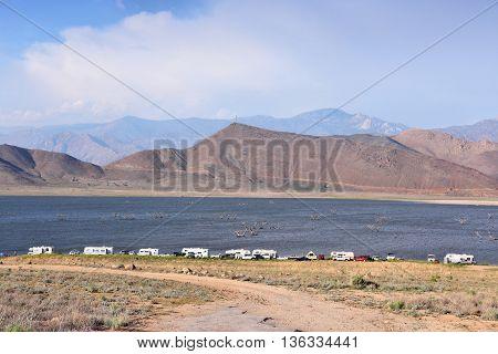 California Dry Lake