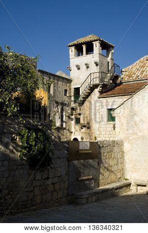 Architecture Of Korčula