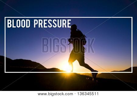 Blood Pressure Symptom Healthcare Diagnosis Circulatory System Concept