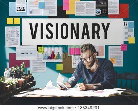 Visionary Aspirations Creativity Imagination Concept