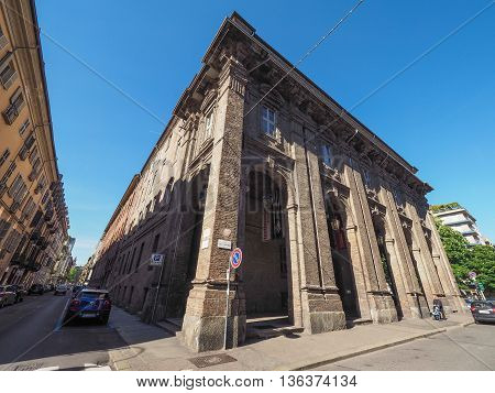 Quartieri Militari Former Barracks In Turin