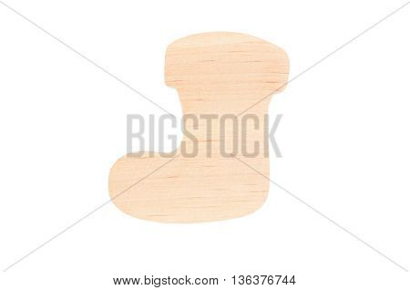 Christmas Wooden Sock