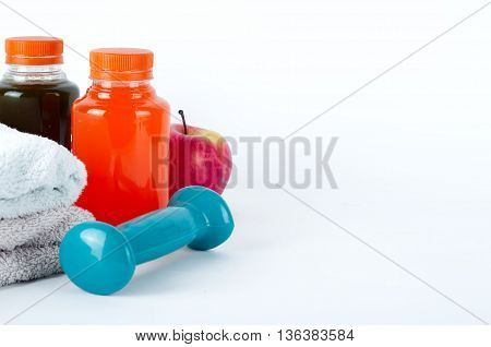 Fitness Concept With Dumbbells
