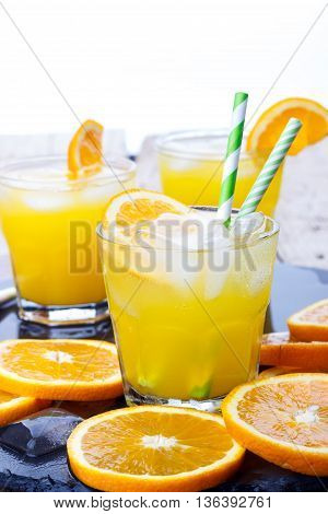 Cocktail With Orange