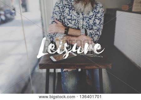 Leisure Journal Journalism Ideas Express Yourself Concept