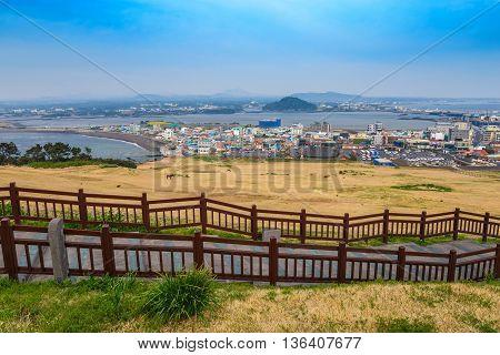 Seongsan Ilchulbong or Sunrise Peak, Jeju Island, South Korea