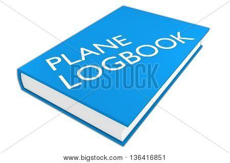 Plane Logbook - Aviation Concept