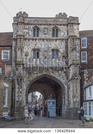 Canterbury Uk