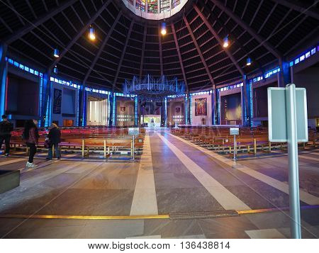 Metropolitan Cathedral In Liverpool